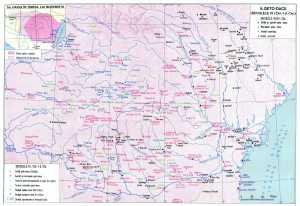 Harta Daciei pe timpul lui Burebista